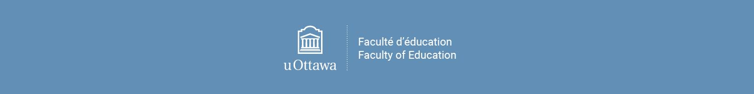 entête officiel Faculté d'éducation