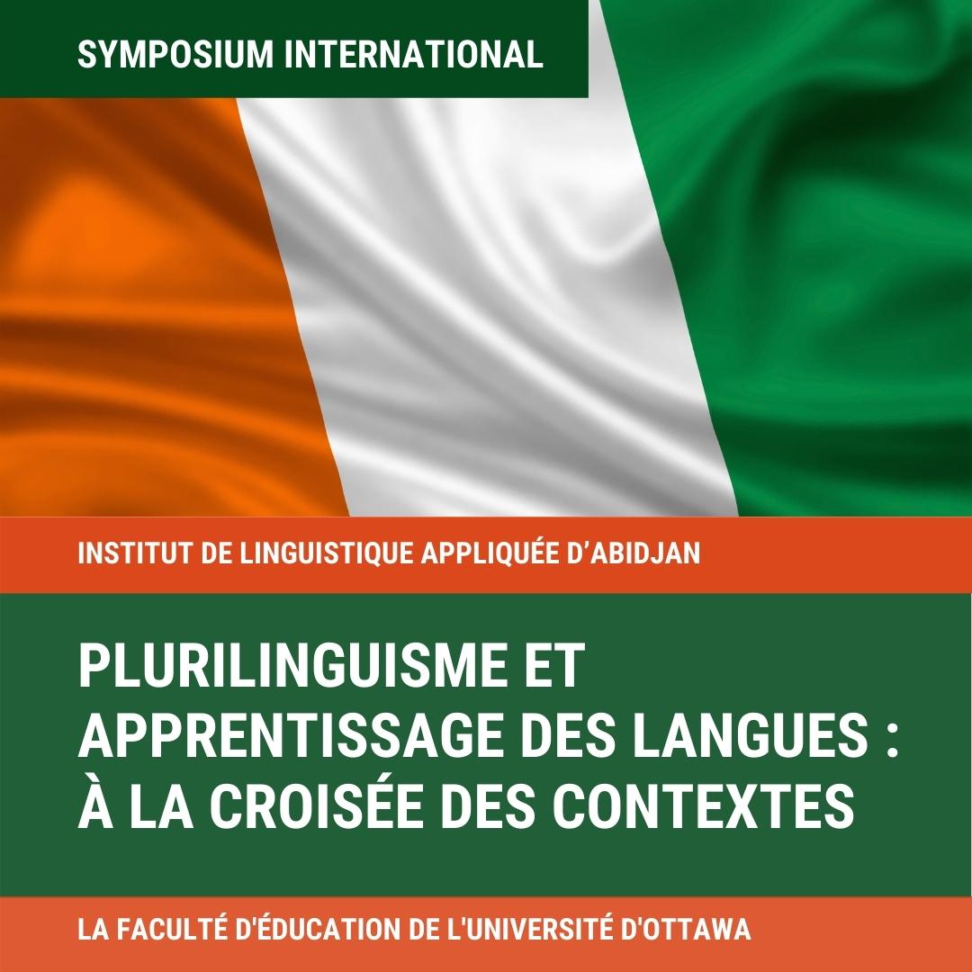 Plurilinguisme et apprentissage des  langues, flag of Ivory Coast
