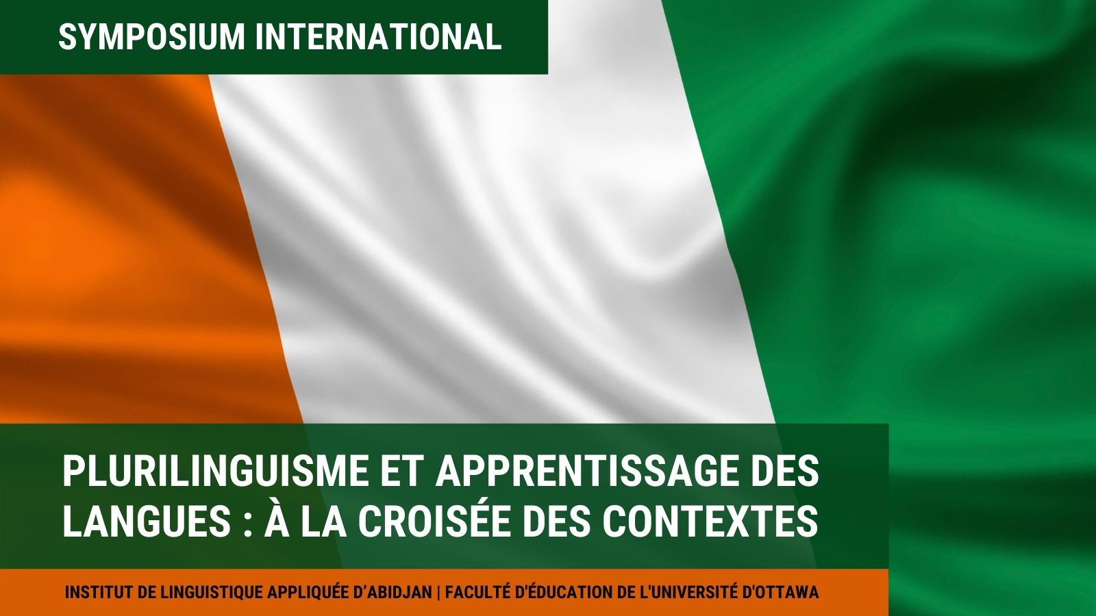 Plurilinguisme et apprentissage des langues, drapeau côte d'ivoire