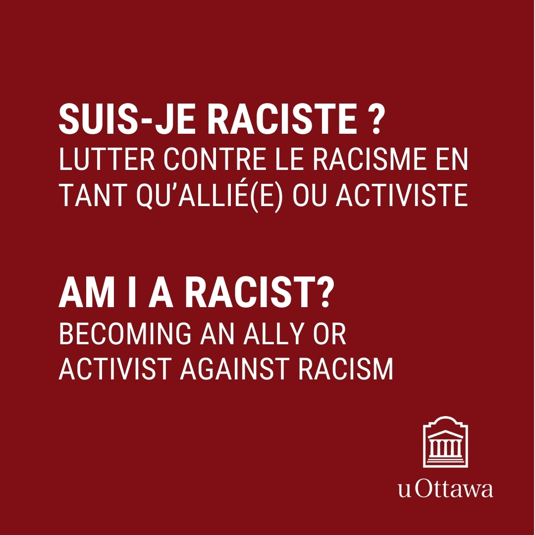 Becoming an ally or activist against racism