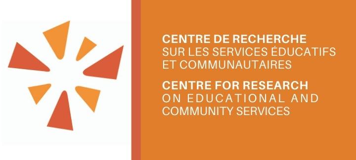 Centre de recherche sur les services éducatifs et communautaires (CRSEC) Logo