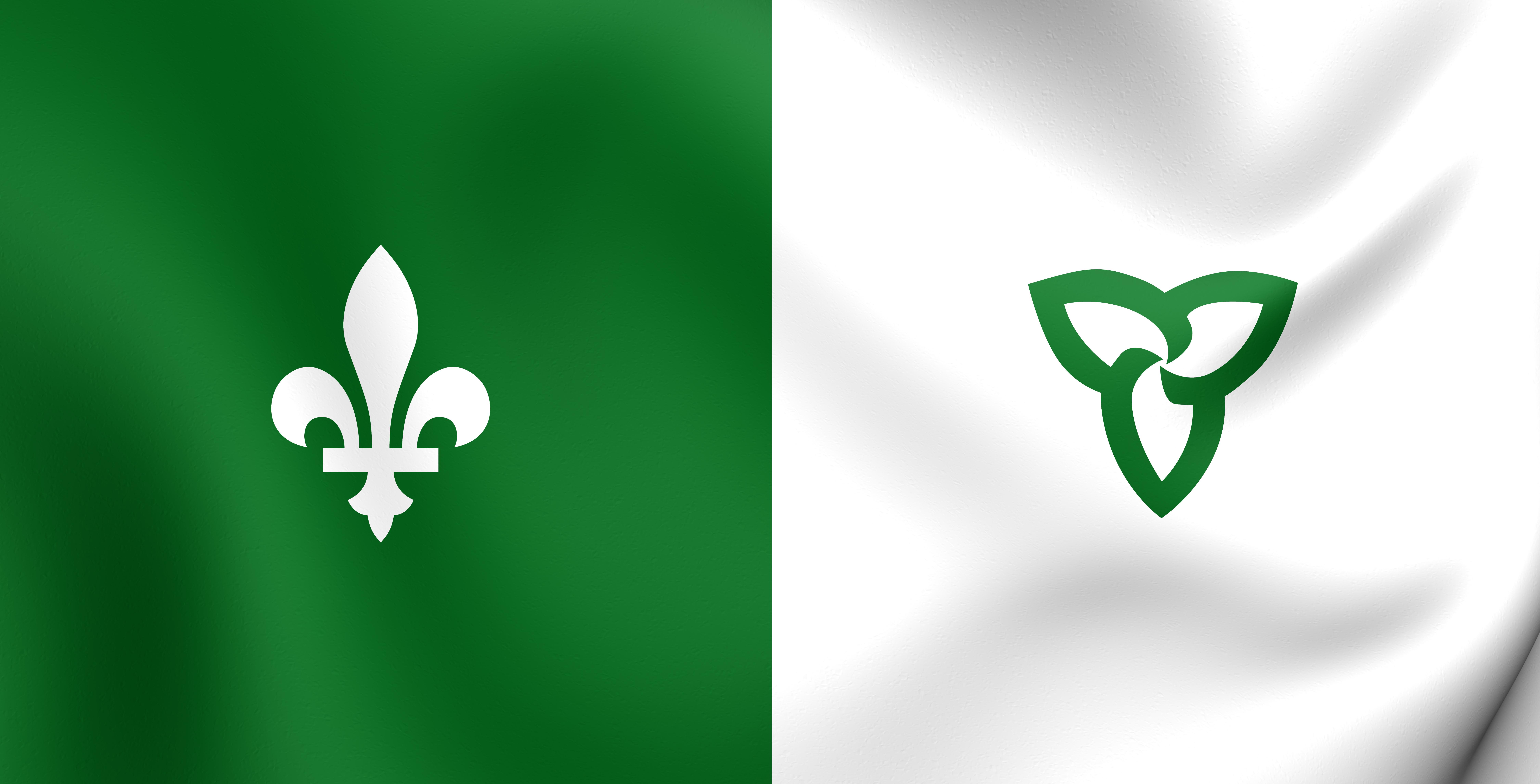 Franco Ontarien Flag