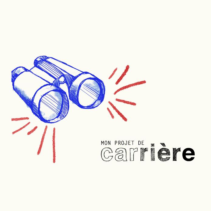 Logo de Mon projet de carrière