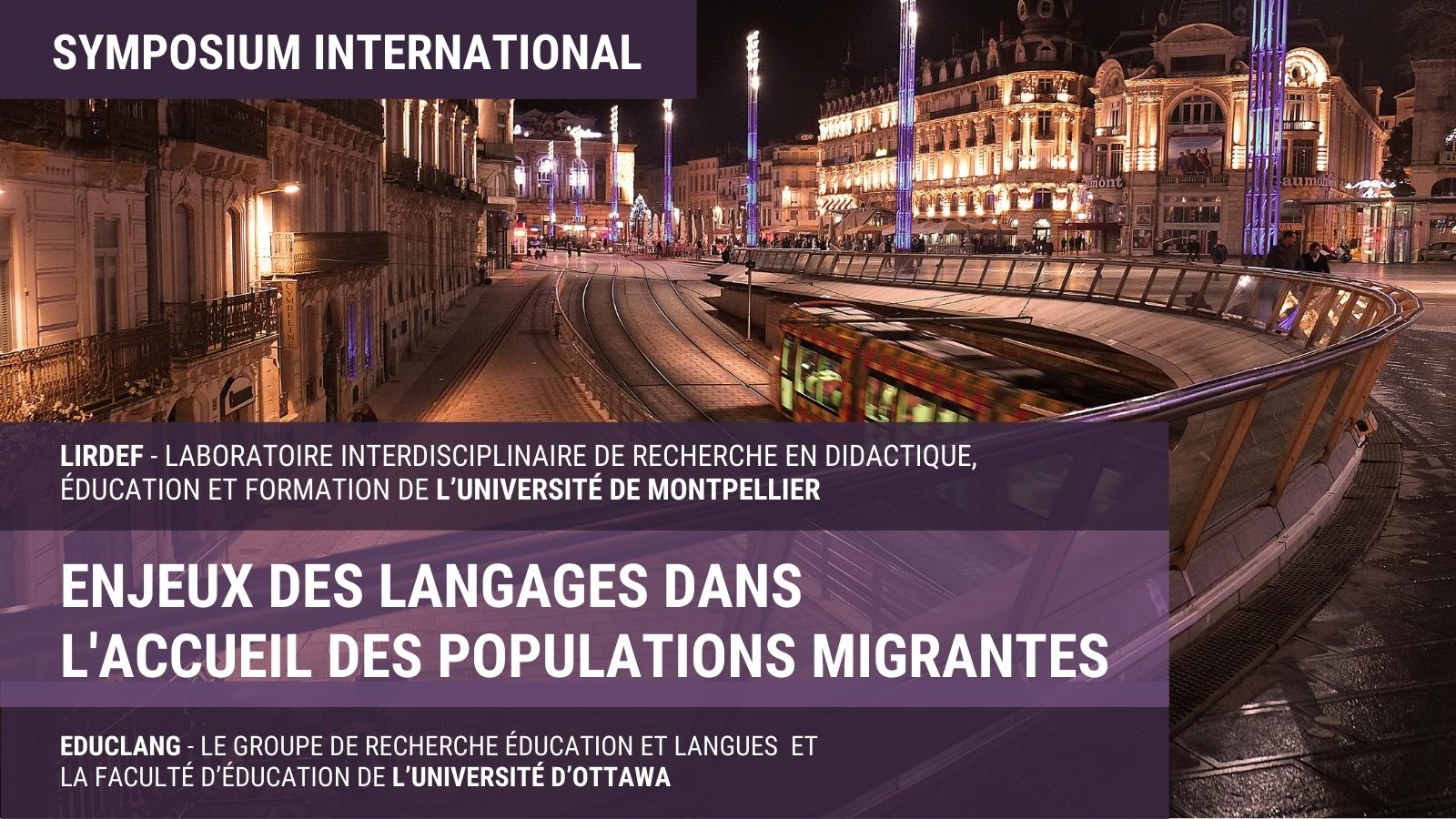 Ville de Montpellier, Enjeux des langages dans l'accueil des populations migrantes