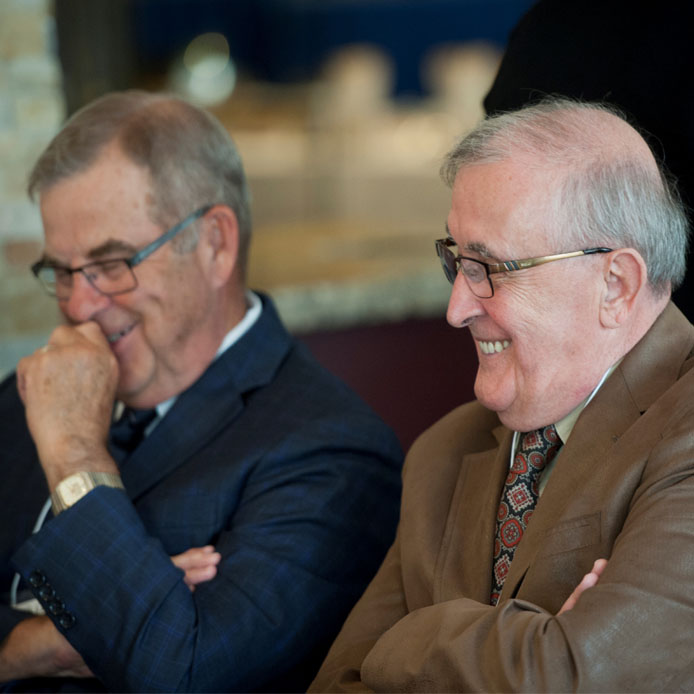 Portrait of Mr. Leduc and Mr. Lévesque