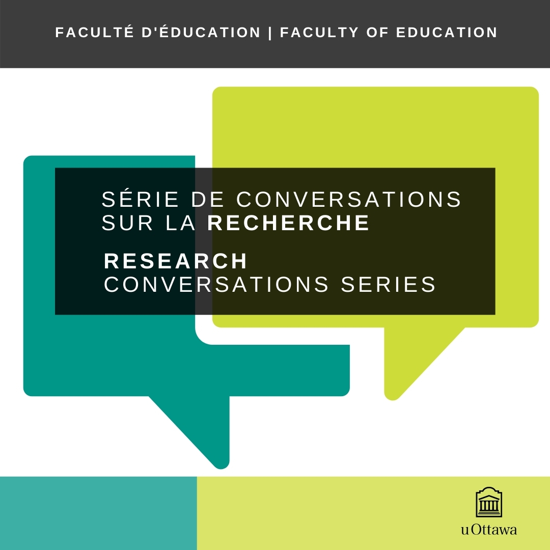 Research Conversations Series Logo with speech bubbles