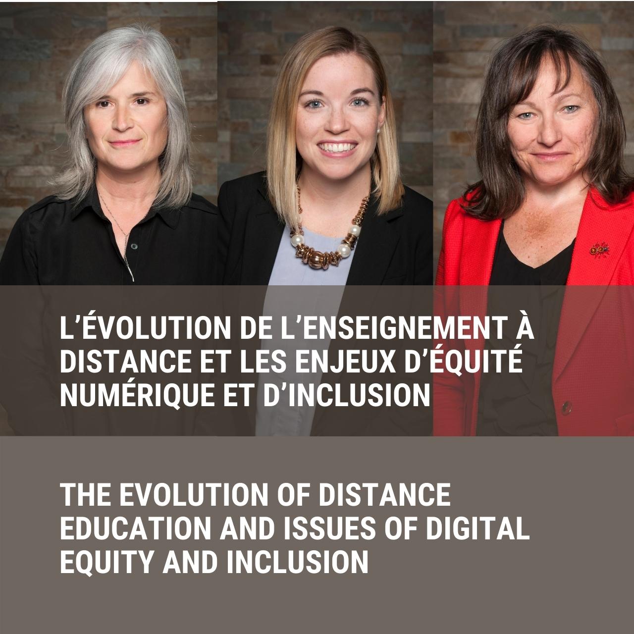 Nathalie Bélanger, Megan Cotnam-Kappel, Phyllis Dalley