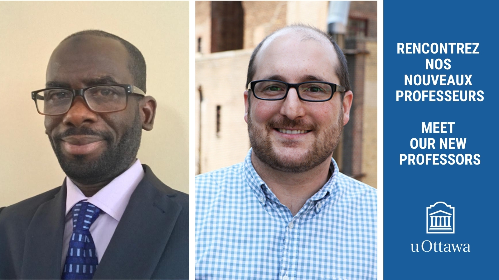 New Professors El Hadji Yaya Koné and John Ranellucci